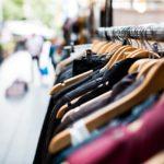 stojak sklepowy odzieżowy